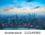 Bird\'s Eye View Of Shanghai...
