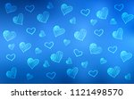 light blue vector pattern with... | Shutterstock .eps vector #1121498570