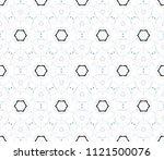 colorful seamless kaleidoscopic ...   Shutterstock . vector #1121500076