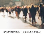 blurred background made of... | Shutterstock . vector #1121545460