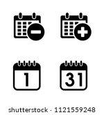 vector business plan... | Shutterstock .eps vector #1121559248