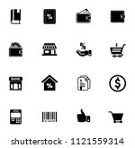 vector shopping   commerce... | Shutterstock .eps vector #1121559314