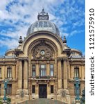 bucharest historical building.... | Shutterstock . vector #1121575910