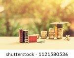 graduate study abroad program...   Shutterstock . vector #1121580536