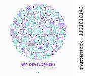 app development concept in...