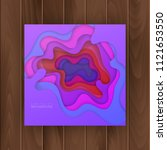 abstract  colorful realistic... | Shutterstock .eps vector #1121653550