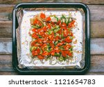 fish blue whiting baked with...