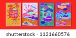 set of summer illustration for... | Shutterstock .eps vector #1121660576