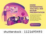 business infographics with...   Shutterstock .eps vector #1121695493