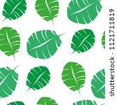 summer vector background with... | Shutterstock .eps vector #1121711819