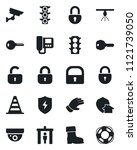 set of vector isolated black... | Shutterstock .eps vector #1121739050