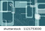 tech background. colorful... | Shutterstock .eps vector #1121753030