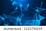 abstract digital background.... | Shutterstock . vector #1121753219