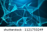 abstract digital background.... | Shutterstock . vector #1121753249