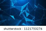 abstract digital background.... | Shutterstock . vector #1121753276
