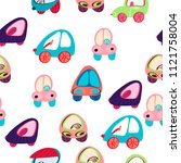 background car. cars collection ...   Shutterstock .eps vector #1121758004