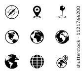 vector map  navigation  road... | Shutterstock .eps vector #1121766200
