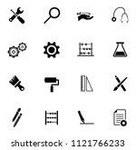 vector repairing tool symbols   ... | Shutterstock .eps vector #1121766233