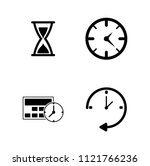 vector alarm time  clock and... | Shutterstock .eps vector #1121766236