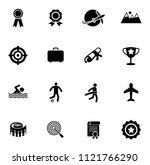 vector sports icons set. vector ... | Shutterstock .eps vector #1121766290