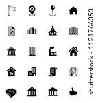 vector real estate icons  sale... | Shutterstock .eps vector #1121766353