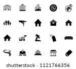 vector real estate icons  sale... | Shutterstock .eps vector #1121766356