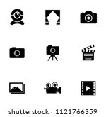 vector digital photography sign ... | Shutterstock .eps vector #1121766359