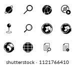 vector map  navigation  road... | Shutterstock .eps vector #1121766410