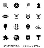 vector gaming icons set. video... | Shutterstock .eps vector #1121771969