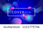 trendy covers or backgrounds... | Shutterstock .eps vector #1121775746