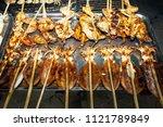 crab market in kep  cambodia.... | Shutterstock . vector #1121789849