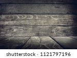wood panel background  abstract ... | Shutterstock . vector #1121797196