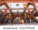 ho chi minh  vietnam   march 23 ... | Shutterstock . vector #1121799359