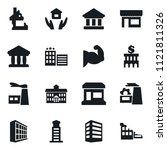 set of simple vector isolated... | Shutterstock .eps vector #1121811326