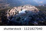 aerial drone bird's eye view of ... | Shutterstock . vector #1121827040