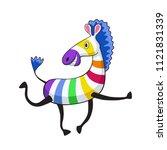 illustration of cartoon... | Shutterstock . vector #1121831339