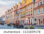 poland  opole 2018 06 22   old... | Shutterstock . vector #1121839178