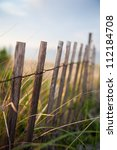 Dune Fence On The Beach