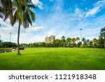 beautiful morning light in...   Shutterstock . vector #1121918348