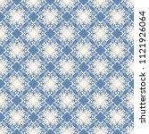 seamless vector decorative... | Shutterstock .eps vector #1121926064