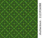 seamless vector decorative... | Shutterstock .eps vector #1121926088