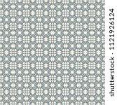 seamless vector decorative... | Shutterstock .eps vector #1121926124