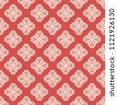 seamless vector decorative... | Shutterstock .eps vector #1121926130