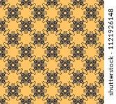 seamless vector decorative... | Shutterstock .eps vector #1121926148