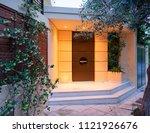 contemporary design house... | Shutterstock . vector #1121926676