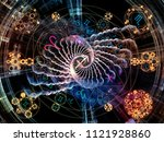 astral connection series.... | Shutterstock . vector #1121928860