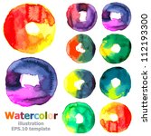 Abstract Watercolor Collection...