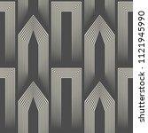 seamless celtic  design. tribal ... | Shutterstock .eps vector #1121945990