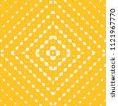 yellow vector geometric... | Shutterstock .eps vector #1121967770