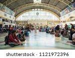 bangkok  thailand   2 june 2018 ... | Shutterstock . vector #1121972396